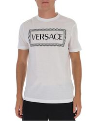 Versace Box Logo T-shirt - White