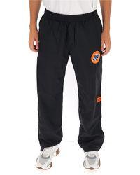 Heron Preston Logo Patch Trousers - Black