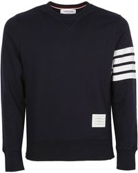 Thom Browne 4-bar Sweatshirt - Blue
