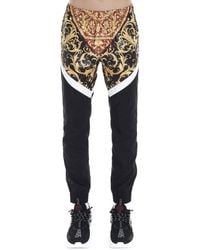 Versace Baroque Panelled Track Trousers - Multicolour