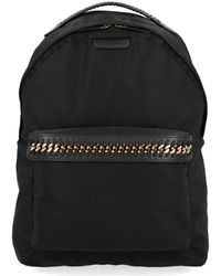 Stella McCartney Falabella Chain Backpack - Black