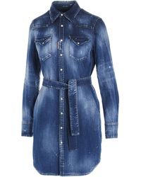 DSquared² Other Materials Shirt - Blue