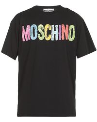 Moschino T-shirts And Polos - Black