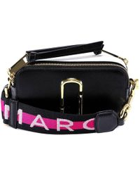 7a86a4a6ee60 Lyst - Marc Jacobs Dalmatian Snapshot Small Camera Bag in Black