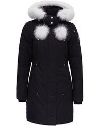 Moose Knuckles Hooded Zipped Parka - Black