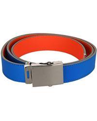 Comme des Garçons Super Fluo Belt - Blue