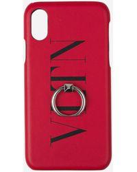 Valentino Vltn Ring Iphone X/xs Case - Pink