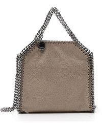 Stella McCartney Falabella Tiny Tote Bag - Brown
