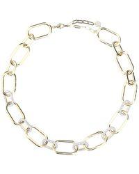 Swarovski Time Necklace Necklace - Metallic