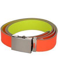 Comme des Garçons Super Fluo Belt - Orange