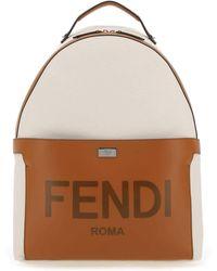 Fendi Essential Backpack - Multicolor