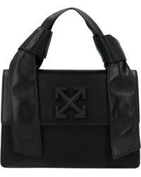 Off-White c/o Virgil Abloh 1.4 Jitney Tote Bag - Black