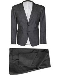 DSquared² London Tailored Suit Set - Gray