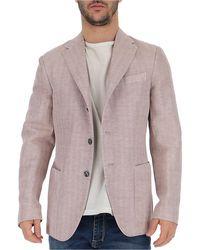The Gigi Tailored Blazer - Pink