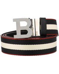 Bally B Buckle Reversible Belt - Multicolor