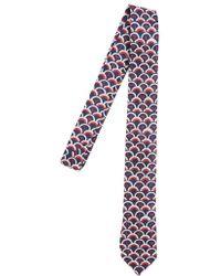 Valentino - Scale Print Tie - Lyst