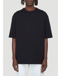 Bottega Veneta Crewneck Oversized T-shirt - Black