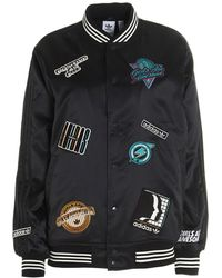 adidas Originals X Girls Are Awesome Collegiate Jacket - Black