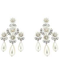Simone Rocha - Embellished Drop Earrings - Lyst