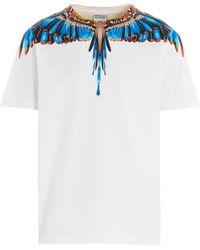 Marcelo Burlon Grizzly Wings Crewneck T-shirt - White