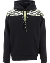 Marcelo Burlon Cmbb007s21fle0011009 Other Materials Sweatshirt - Black