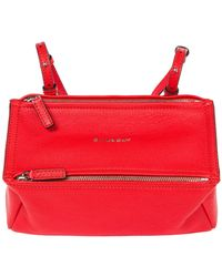 Givenchy Pandora Mini Crossbody Bag - Red