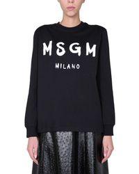MSGM Crew Neck T-shirt - Black