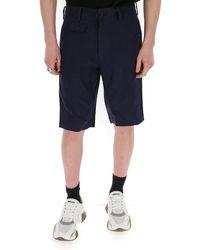 Junya Watanabe Knee Length Shorts - Blue