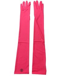 MM6 by Maison Martin Margiela Long Gloves - Pink