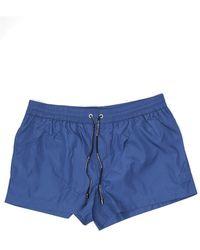 Dolce & Gabbana Drawstring Swim Shorts - Blue