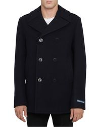 Polo Ralph Lauren Double Breasted Coat - Blue