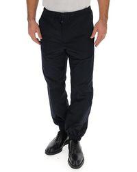 Prada Drawstring Waist Pants - Blue