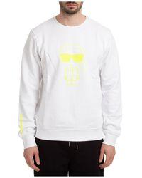 Karl Lagerfeld Ikonik Logo-print Jumper - White
