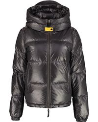 Parajumpers Regan Hooded Down Jacket - Grey