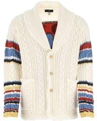 Alanui Canyon Cable Knit Cardigan - Multicolor