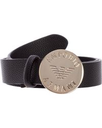 Emporio Armani Women's Belt - Black