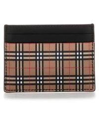Burberry Classic Check Cardholder - Black