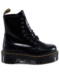 Dr. Martens Jadon Lace-up Boots - Black