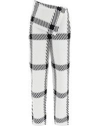 Stella McCartney Knit Check Trousers - Multicolour