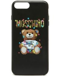 Moschino - Toy Print Iphone Case - Lyst