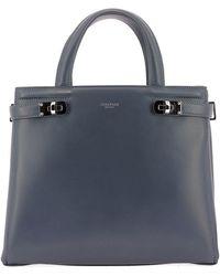Serapian Meline Logo Tote Bag - Gray