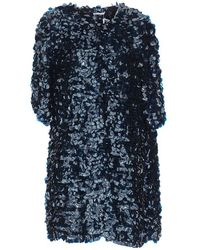 P.A.R.O.S.H. - Glen All Over Sequin Coat - Lyst