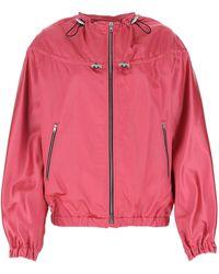 Marni Drawstring Detail Jacket - Pink