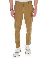 Prada Slim-fit Chino Trousers - Brown