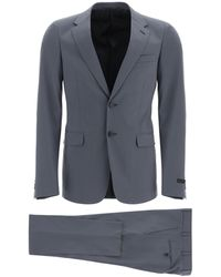 Prada Two Piece Single Breasted Suit - Gray