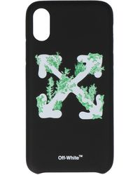Off-White c/o Virgil Abloh Arrows Logo Iphone Xs Case - Black