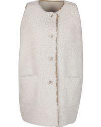 Marni Reversible Sleeveless Gilet - White