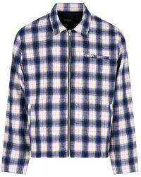 Noon Goons Anderson Checked Jacket - Blue