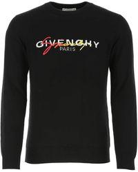 Givenchy Black Wool Jumper Nd Uomo