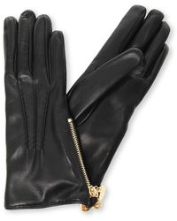 Etro Leather Gloves - Black